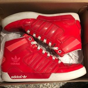 Adidas Raleigh mid high tops